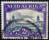 SOUTH AFRICA - CIRCA 1949: A stamp printed in South Africa shows Union Buildings, Pretoria, circa 1949 — Stock Photo