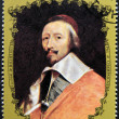 CHAD - CIRCA 1972: A stamp printed in Chad shows Cardinal Richelieu by Champaigne, circa 1972 — Stock Photo #49879709
