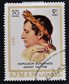 AJMAN - CIRCA 1970: A stamp printed in Ajman shows Napoleon Bonaparte, circa 1970 — Stock Photo