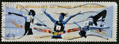 FRANCE - CIRCA 2003: A stamp printed in France dedicated to World Championship Athletics, circa 2003 — Stock Photo