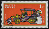 HUNGARY - CIRCA 1970: stamp printed in Hungry show retro car, Benz 1901, circa 1970. — Stock Photo