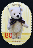JAPAN - CIRCA 2013: stamp printed in Japan shows Teddy Bear, circa 2013 — Stock Photo