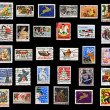 Christmas collection of stamps of the United States — Stock Photo #7926292