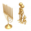 Menorah - Stock Photo