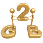 G2b concept — Stock Photo