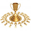 Trophy Worship — Stock Photo
