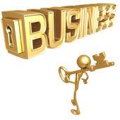 Key to Business — Stock Photo