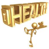 Key to Health — Stock Photo