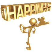 Key to Happiness — Stock Photo