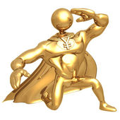 Yen superhéroe — Foto de Stock
