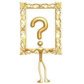 Question Art — Stock Photo