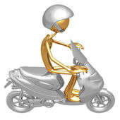Moped the — Stock Photo
