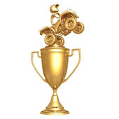 ATV Trophy — Stock Photo