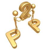 P2p concept — Stock Photo