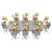Reunião de jogo de culpa — Foto Stock