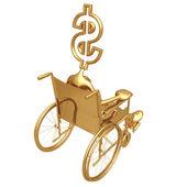 Wheelchair Dollar — Stock Photo