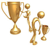 Trophy Envy — Stock Photo