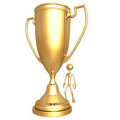 Giant Trophy Cup — Stock Photo