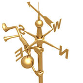 Winds Of Change Weathervane — Stock Photo