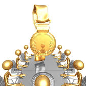Gold Medal Meeting — Stock Photo