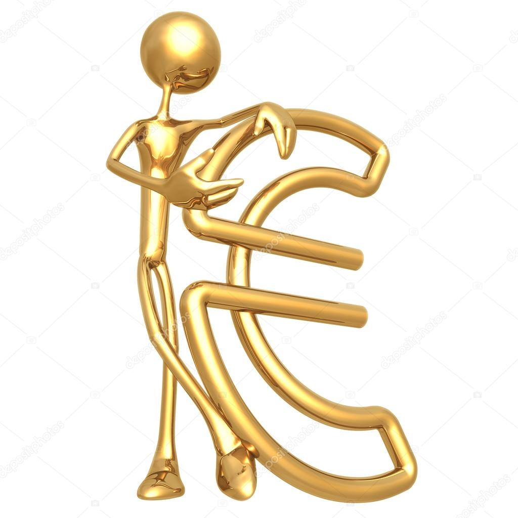 Paperclip Euro — Stock Photo #12265207