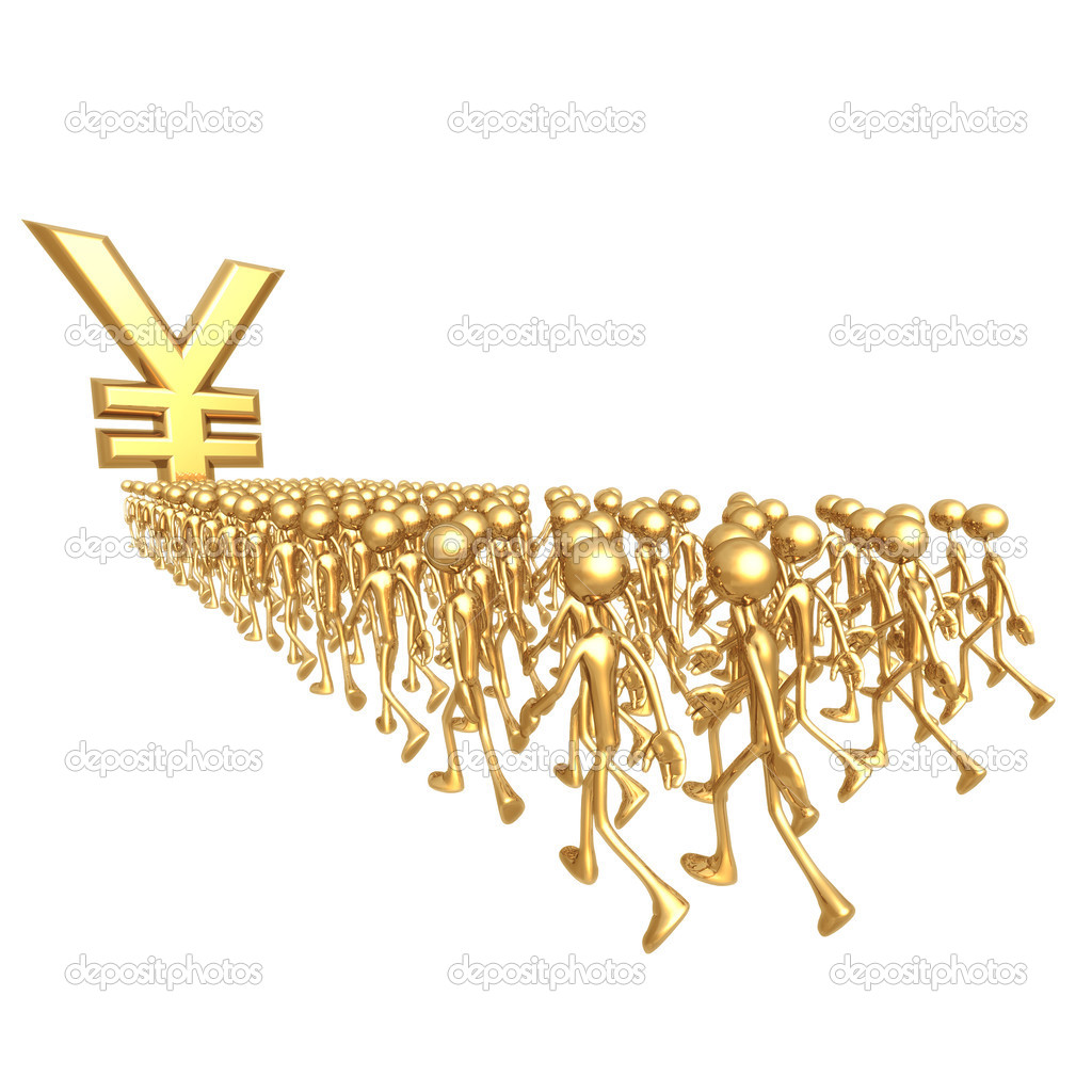 March Towards Yen — Stock Photo #12269372