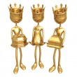 3 Kings — Stock Photo
