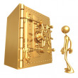 Giant Safe — Stockfoto