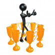 Trophy Concepts — Stock Photo