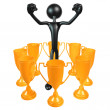 Stock Photo: Trophy Concepts
