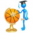 Basketball Scholarship — Stock Photo