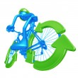 Recycle Bicycle — Stock Photo #12278601