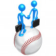 Baseball Business Deal - Stock Photo