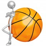 Attitude Lean Basketball — Stock Photo #12279927