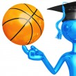 Stock Photo: Basketball Scholarship
