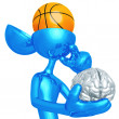 Stock Photo: Basketball Mind