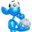 Stock Photo: Soccer Football Mind