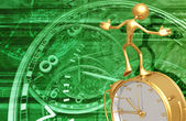 Balancing Time — Stock Photo