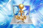 технологии гуру — Стоковое фото