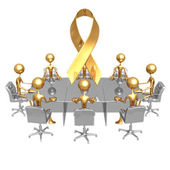 Cause Awareness Meeting — Stock Photo