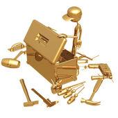 Caja de herramientas — Foto de Stock