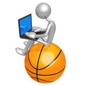 Online Basketball — Stock Photo