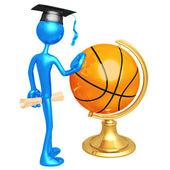 Basketball Scholarship — Stock Photo