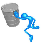 Oil Greif — Stock Photo