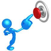プッシュ ボタン — ストック写真