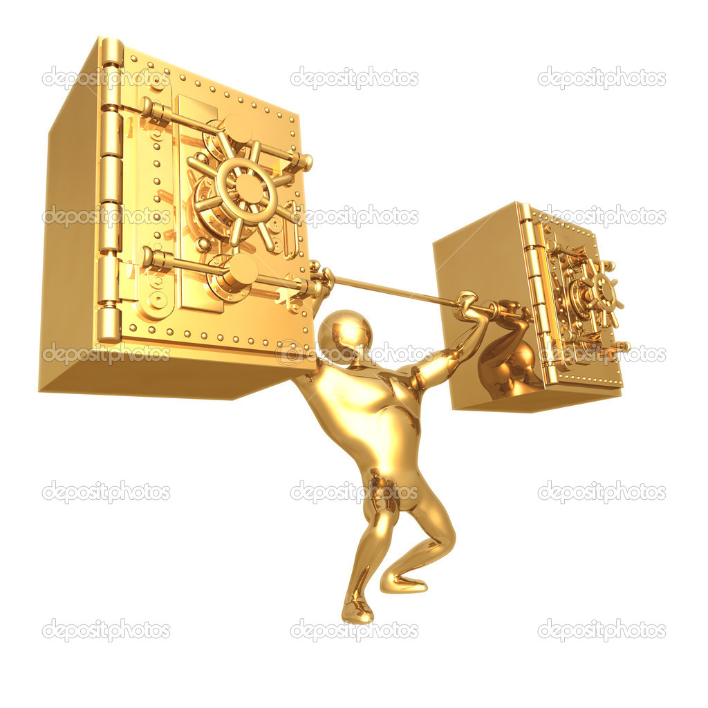 Vault Weight Lift  Stock Photo #12276987