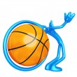 Stock Photo: Basketball Obsession