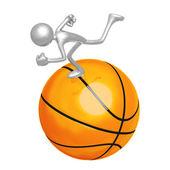 Basketball Runner — Stock Photo