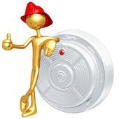 детектор дыма — Стоковое фото