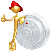 Smoke Detector — Stock Photo